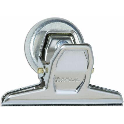 MAUL Briefklemmer MAULpro, mit Magnet, Breite: 75 mm, nickel