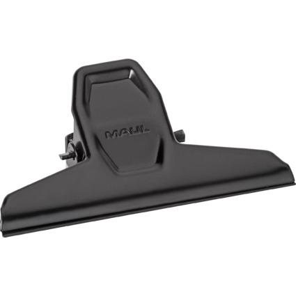 MAUL Briefklemmer MAULpro, Metall, schwarz, Breite: 95 mm