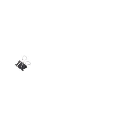 MAUL mauly 214 Foldback-Klammer, schwarz, (B)16 mm
