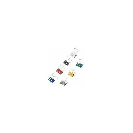 MAUL mauly 215 Foldback-Klammer, farbig sortiert, (B)19 mm
