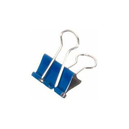MAUL mauly Foldback-Klammer, blau, (B)19 mm