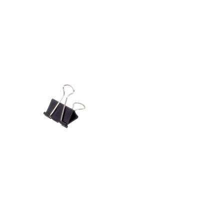 MAUL mauly 214 Foldback-Klammer, schwarz, (B)32 mm