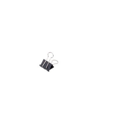 MAUL mauly 215 Foldback-Klammer, schwarz, (B)25 mm