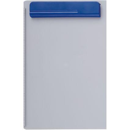 MAUL Klemmbrett OG, Platte: grau / Klemme: blau