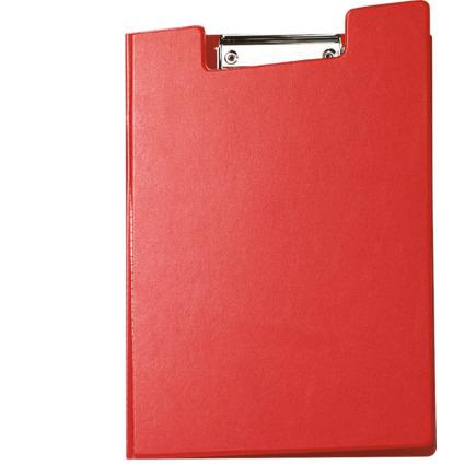 MAUL Klemmbrett-Mappe mit Folienüberzug, DIN A4, rot,