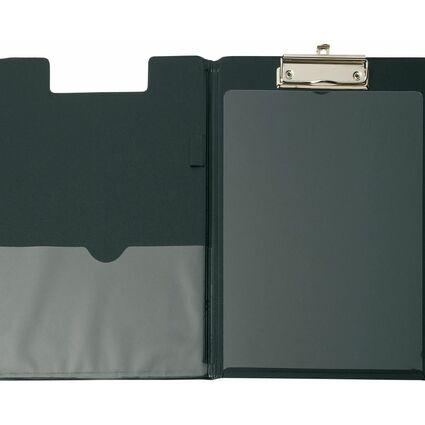 MAUL Klemmbrett-Mappe mit Folienüberzug, DIN A4, schwarz