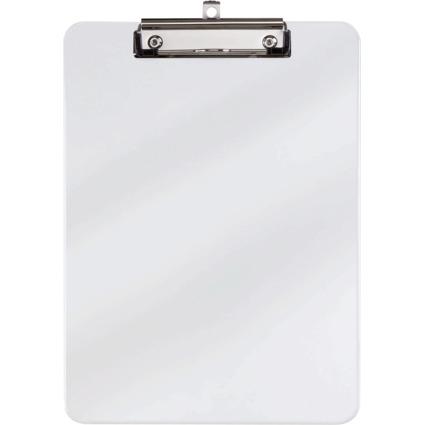 MAUL Kunststoff-Klemmbrett, DIN A4, glasklar