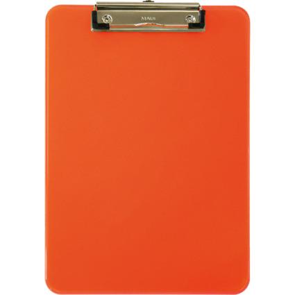 MAUL Klemmbrett MAULneon, DIN A4, transparent-orange