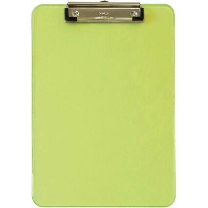 MAUL Klemmbrett MAULneon, DIN A4, transparent-grün