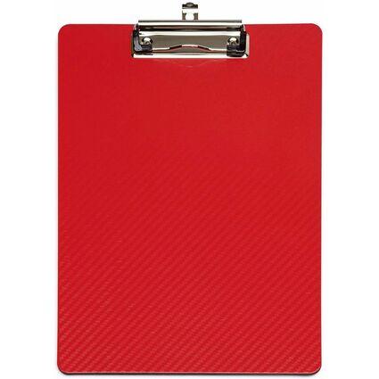 MAUL Klemmbrett MAULflexx, DIN A4, aus PP, rot / schwarz