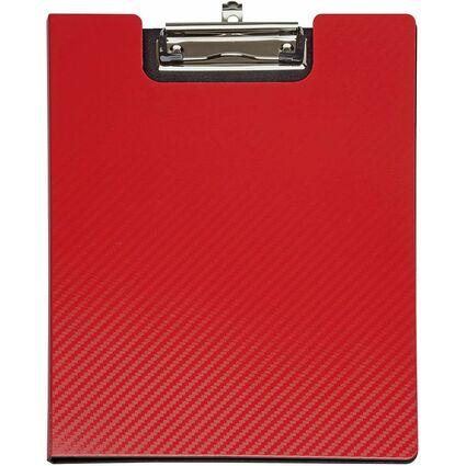 MAUL Schreibmappe MAULflexx, DIN A4, aus PP, rot/schwarz