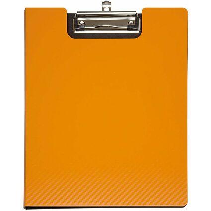 MAUL Schreibmappe MAULflexx, DIN A4, aus PP, orange/schwarz