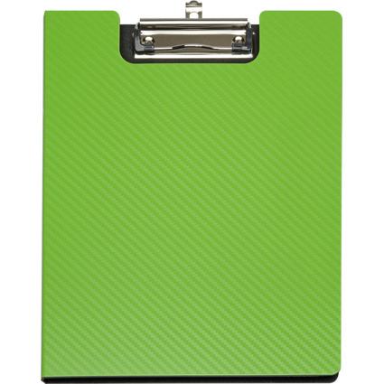 MAUL Schreibmappe MAULflexx, DIN A4, aus PP, grün/schwarz