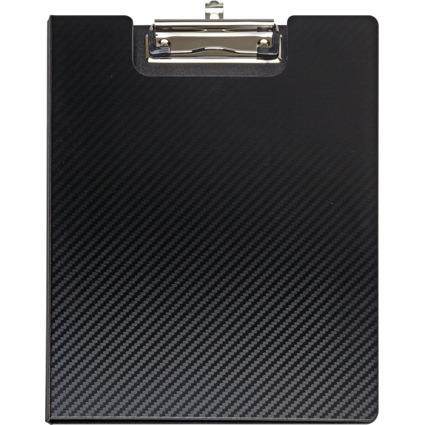 MAUL Schreibmappe MAULflexx, DIN A4, aus PP, schwarz/schwarz