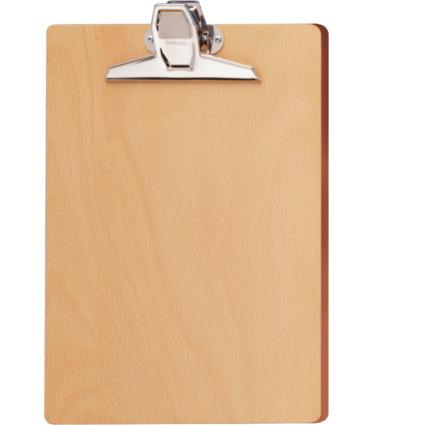 MAUL Klemmbrett A4 Holz, Buche (mehrschichtverleimt)