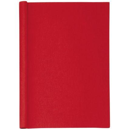 """MAUL Klemmbinder """"Leinen"""", DIN A4, rot, Füllhöhe: 20 mm"""