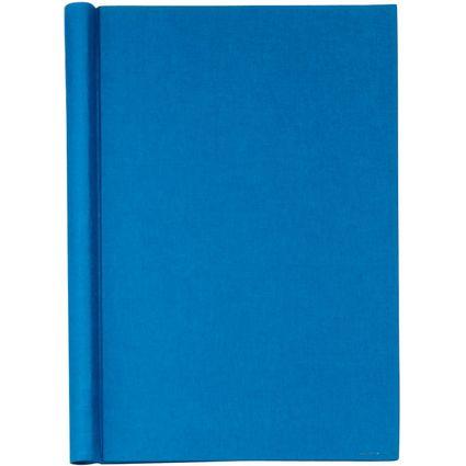 """MAUL Klemmbinder """"Leinen"""", DIN A4, blau, Füllhöhe: 20 mm"""