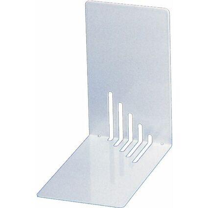 MAUL Buchstütze (H)140 x (T)140 x (B)85 mm, weiß