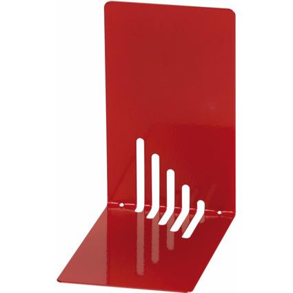 MAUL Buchstütze (H)140 x (T)140 x (B)85 mm, rot