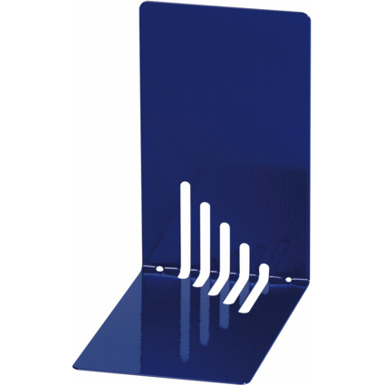 MAUL Buchstütze (H)140 x (T)140 x (B)85 mm, blau