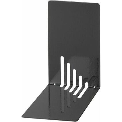 MAUL Buchstütze (H)140 x (T)140 x (B)85 mm, schwarz