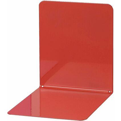 MAUL Buchstütze (B)120 x (T)140 x (H)140 mm, rot