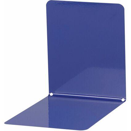 MAUL Buchstütze (B)120 x (T)140 x (B)140 mm, blau