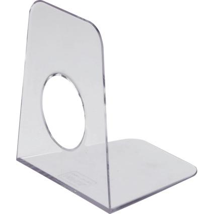 MAUL Buchstütze (B)90 x (T)105 x (H)120 mm, glasklar