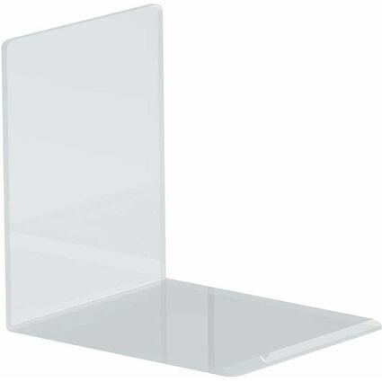 MAUL Buchstütze aus Acryl, glasklar, 80 x 100 x 100 mm
