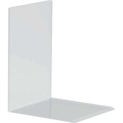 MAUL Buchstütze aus Acryl, glasklar, 150 x 160 x 210 mm