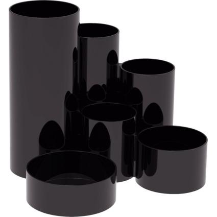 MAUL Multiköcher MAULdeskbox, schwarz, Kunststoff