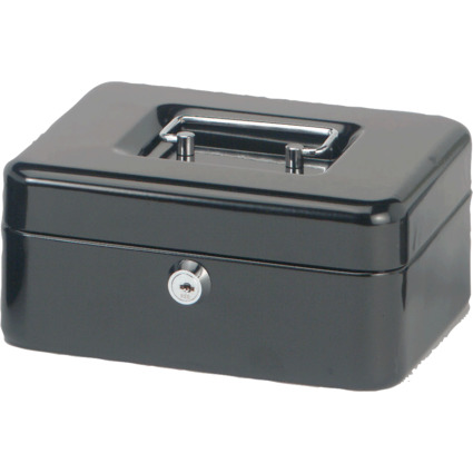 MAUL Geldkassette, schwarz, Maße: (B)200 x (T)170 x (H)90 mm