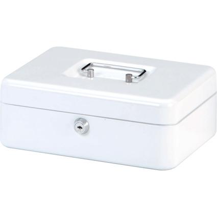 MAUL Geldkassette, weiß, Maße: (B)250 x (T)190 x (H)90 mm