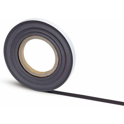MAUL Magnetband, Länge: 10 m, Breite: 15 mm, schwarz