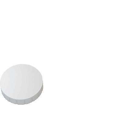 MAUL Haftmagnet MAULsolid, Haftkraft: 0,8 kg, weiß