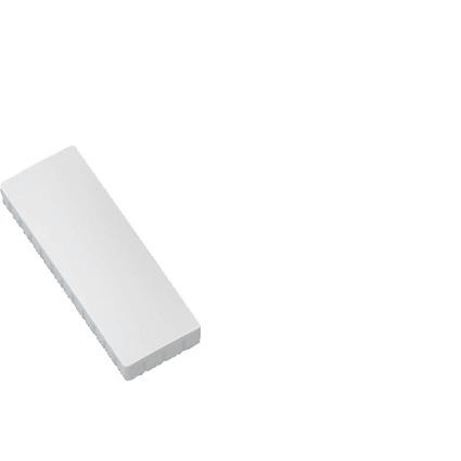 MAUL Haftmagnet MAULsolid, Haftkraft: 1,0 kg, weiß
