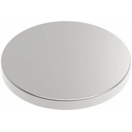 MAUL Neodym-Magnet selbstklebend, Durchmesser: 10 x (H)1 mm