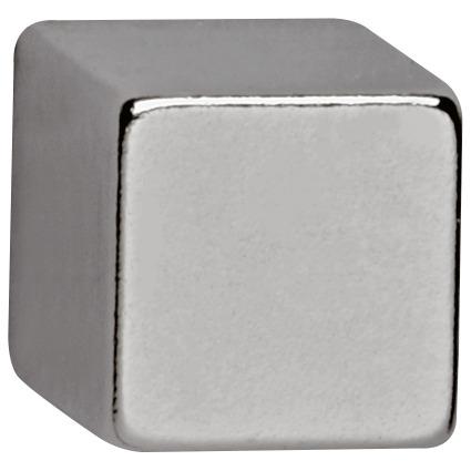 MAUL Neodym-Magnetwürfel, (B)10 x (T)10 x (H)10 mm, nickel