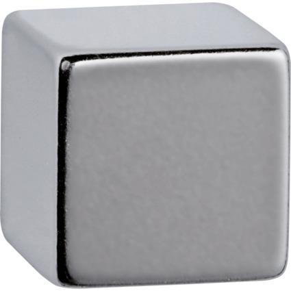 MAUL Neodym-Würfelmagnet, 15 x 15 x 15 mm, nickel