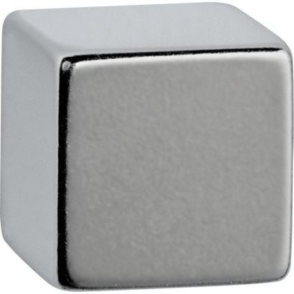 MAUL Neodym-Würfelmagnet, 20 x 20 x 20 mm, nickel