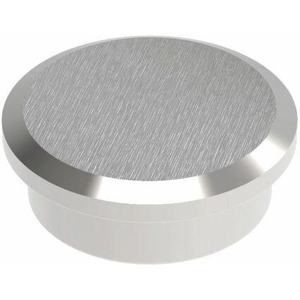 MAUL Neodym-Kraftmagnet, Durchmesser: 25 mm, nickel