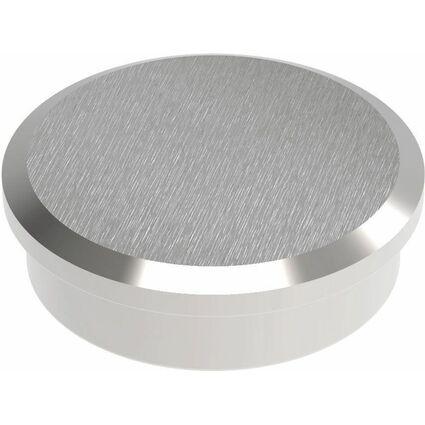MAUL Neodym-Kraftmagnet, Durchmesser: 30 mm, nickel