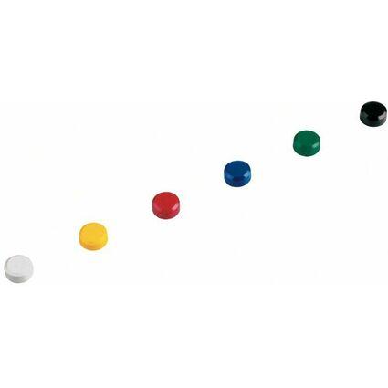 MAUL Haftmagnet, rund, Durchmesser: 15 mm, Höhe: 7 mm