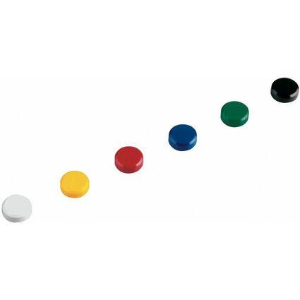 MAUL Haftmagnet, rund, Durchmesser: 20 mm, Höhe: 8 mm