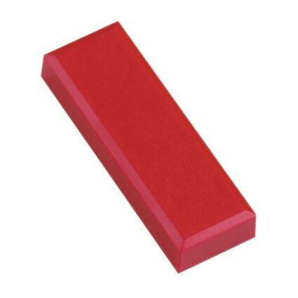 MAUL Haftmagnet MAULpro, eckig, (B)53 x (T)18 mm, rot