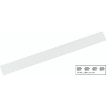 MAUL Ferroleiste MAULsolid, Länge: 500 mm, inkl. 4 Magneten