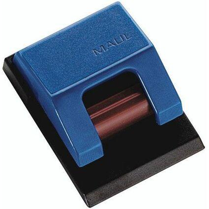 MAUL Rollenclip S, selbstklebend, blau