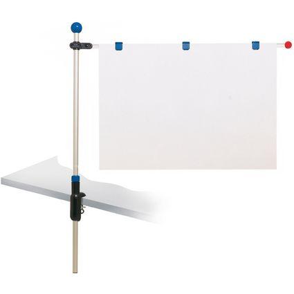 """MAUL Planhalter """"Tischpresenter"""", blau, Klemmfuß"""