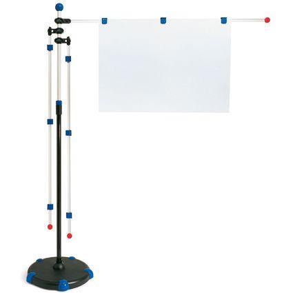 "MAUL Planhalter ""Mobilpresenter"", blau, mit Teleskopauszug"