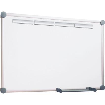 MAUL Weißwandtafel 2000, Komplett-Set plus, 1.200x900 mm